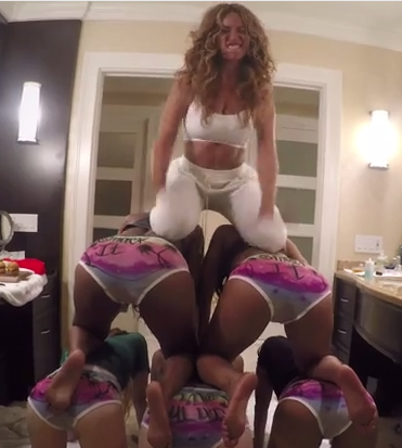 Beyonce Gets A Little Wild For Her New Video7/11