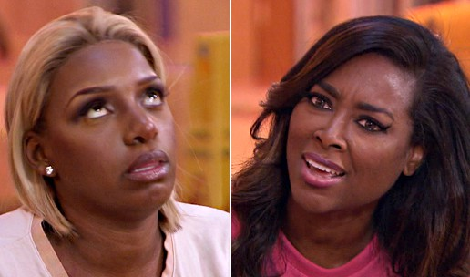 NeNe Leakes And Kenya Moore Can't Agree On Who'sPrettier