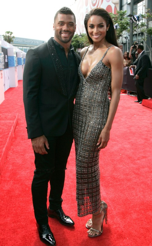 [Credit: Russell Wilson, Ciara Harris, 2015 BET AwardsMaury Phillips/BET/Getty Images for BET]