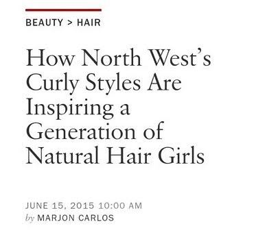 Come Again: Vogue Says North West Inspired Natural Hair