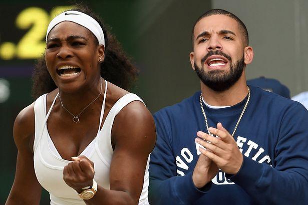 Drake + Serena = Restaurant MakeoutSesh
